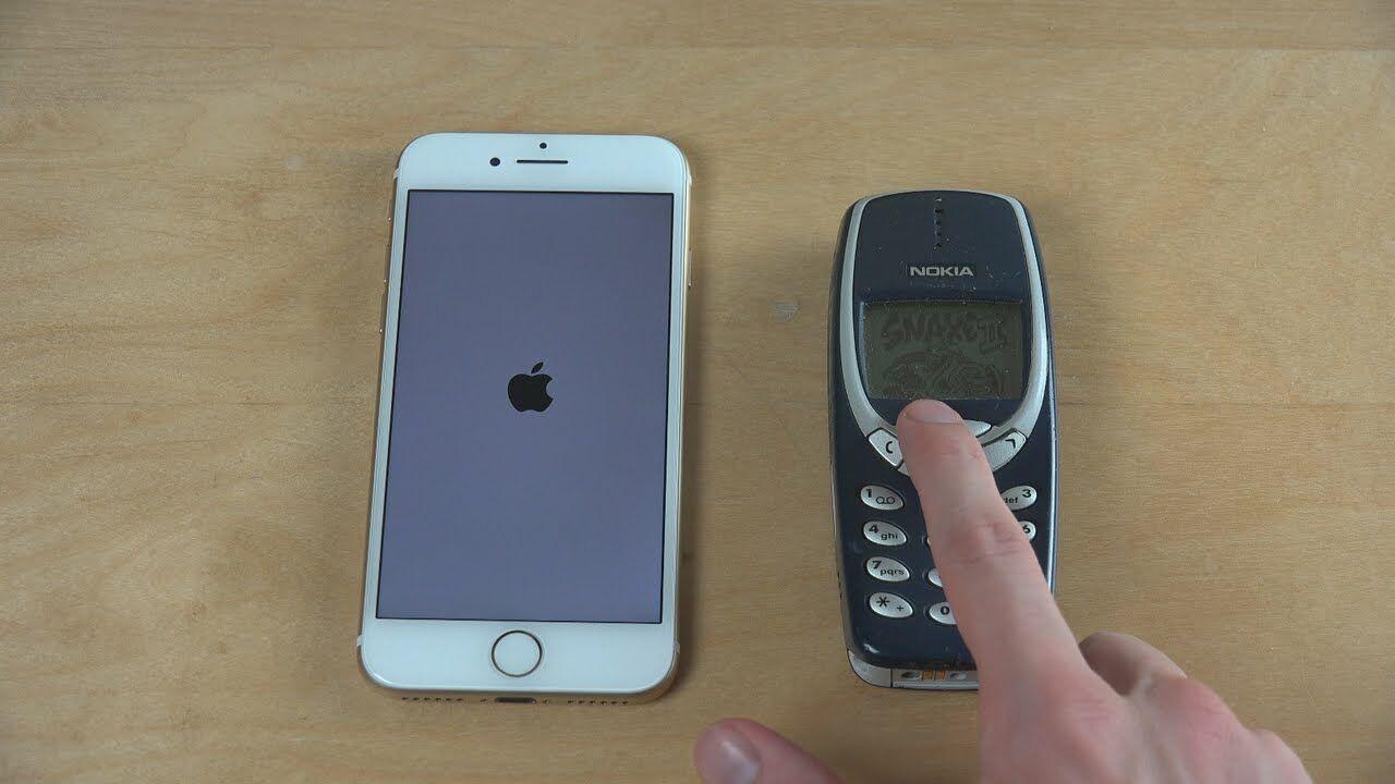 Iphone 7 Vs Nokia 3310 1