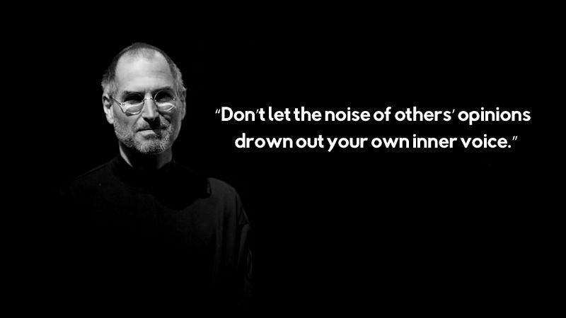 Jangan Biarkan Kebisingan Dari Pendapat Orang Lain Meredam Suara Batin Kamu Sendiri