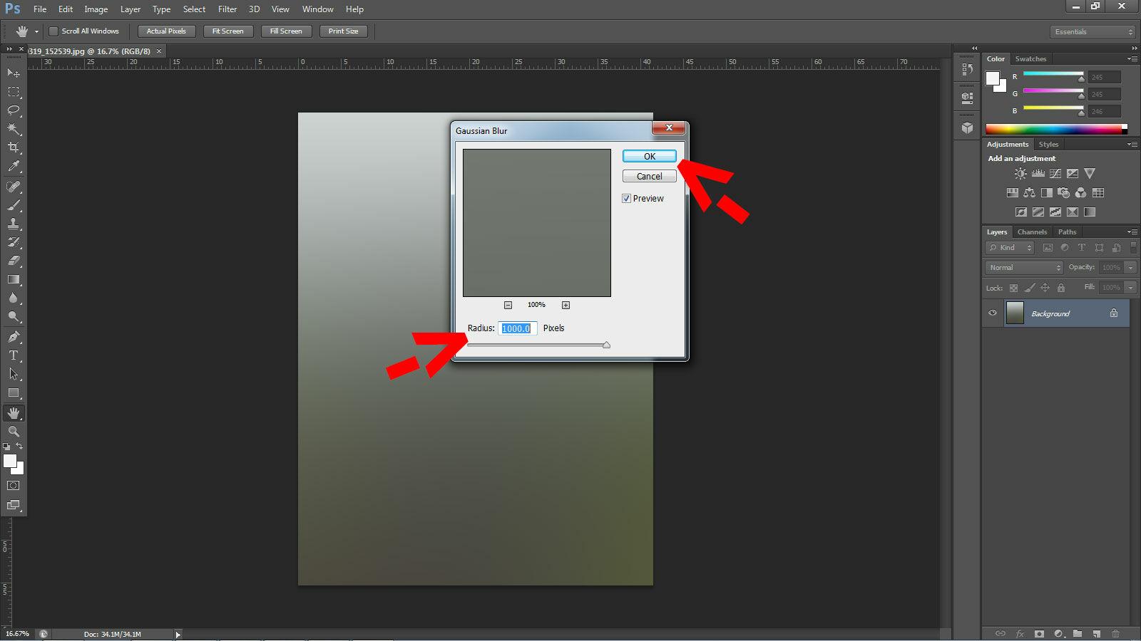 Cara Membuat Efek Instagram Di Photoshop 2