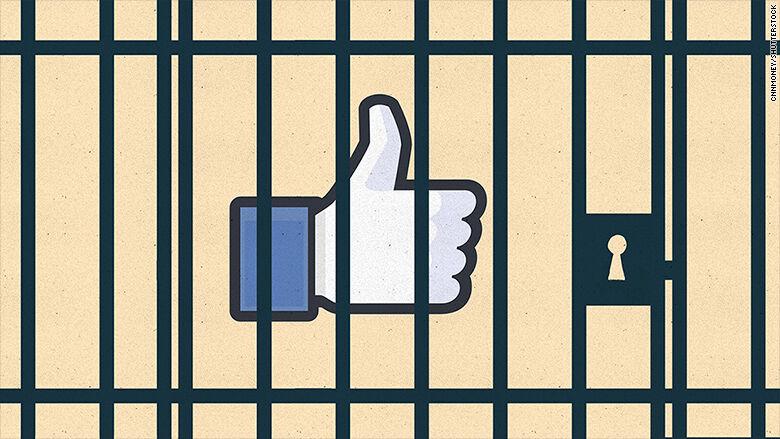Didenda Karena Like Facebook 1