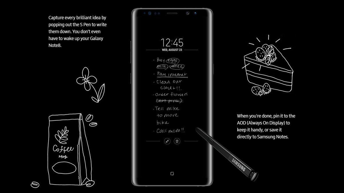 Fitur Samsung Galaxy Note 8 5