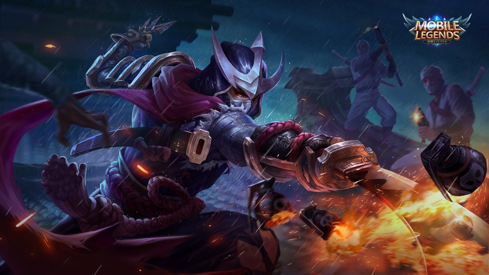 Wallpaper Mobile Legends Hayabusa Shadow Of Iga