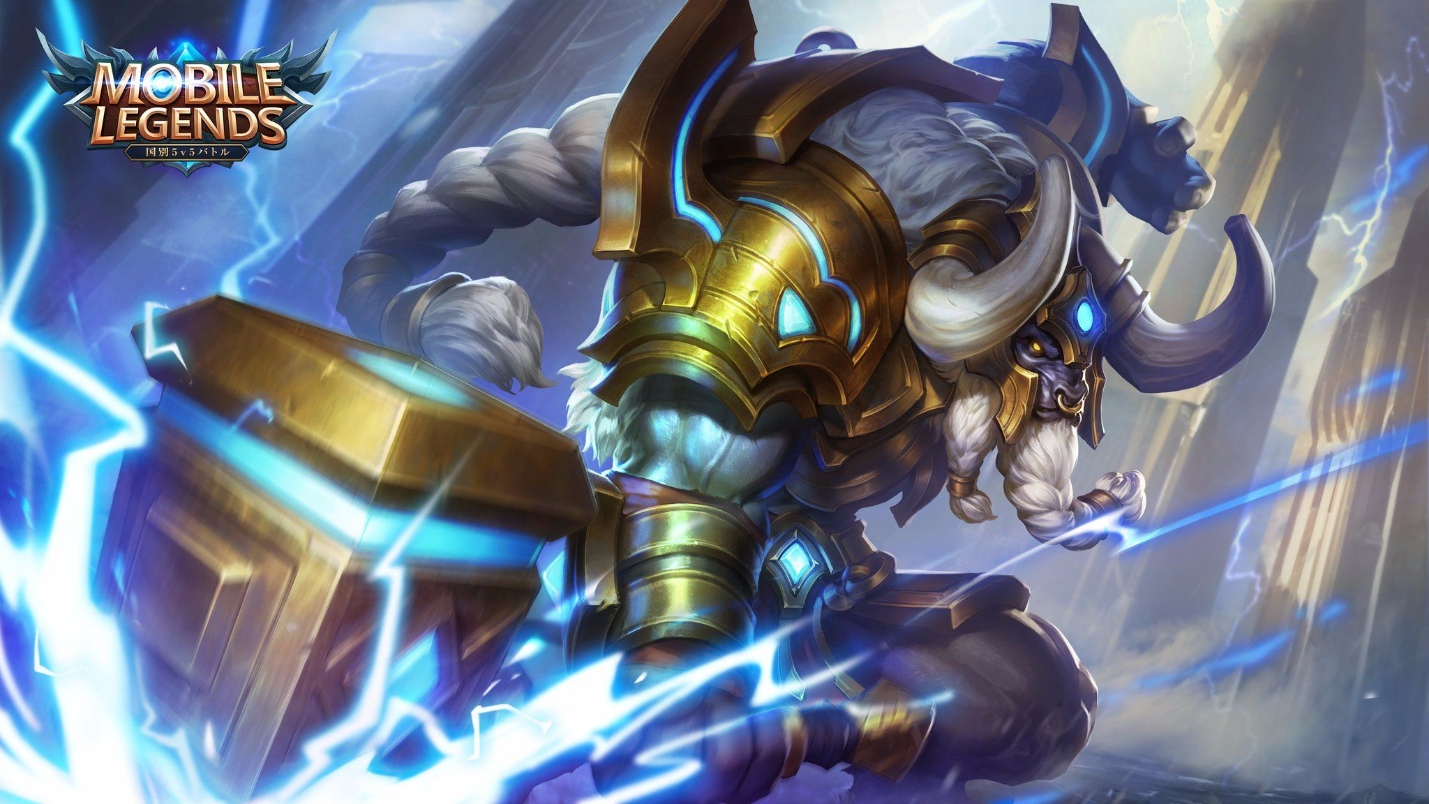 Wallpaper Mobile Legends Minotaur Taurus