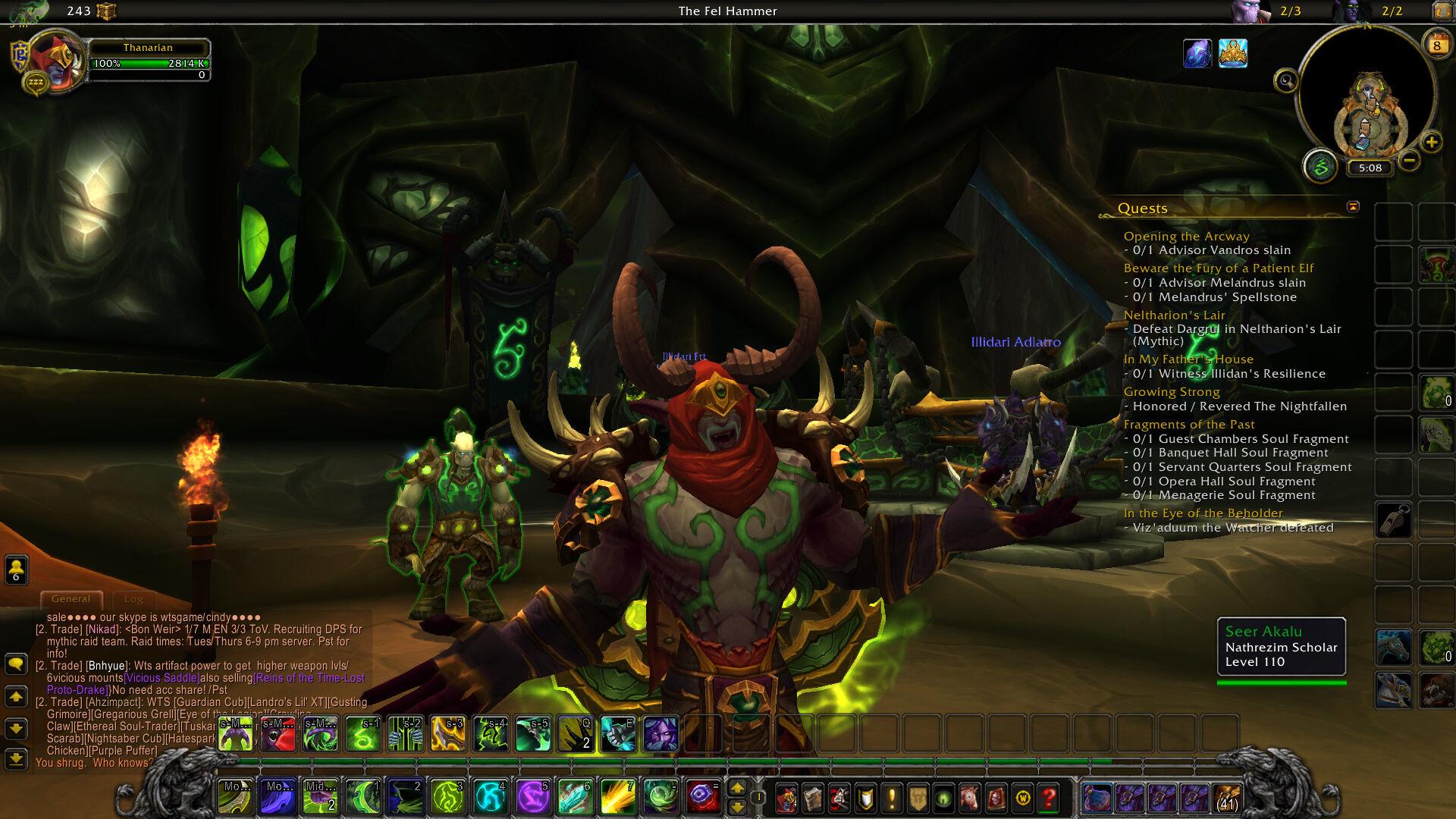 how to kill downfall wow legion