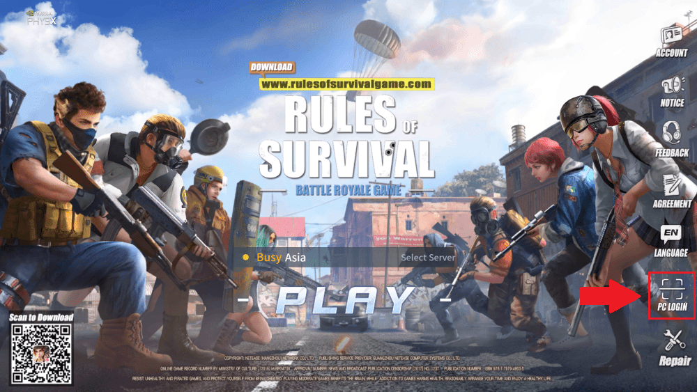 Cara Main Rules Of Survival Di Pc 3