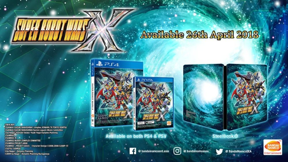 Review Game Ps4 Super Robot Wars X 1 1dcac