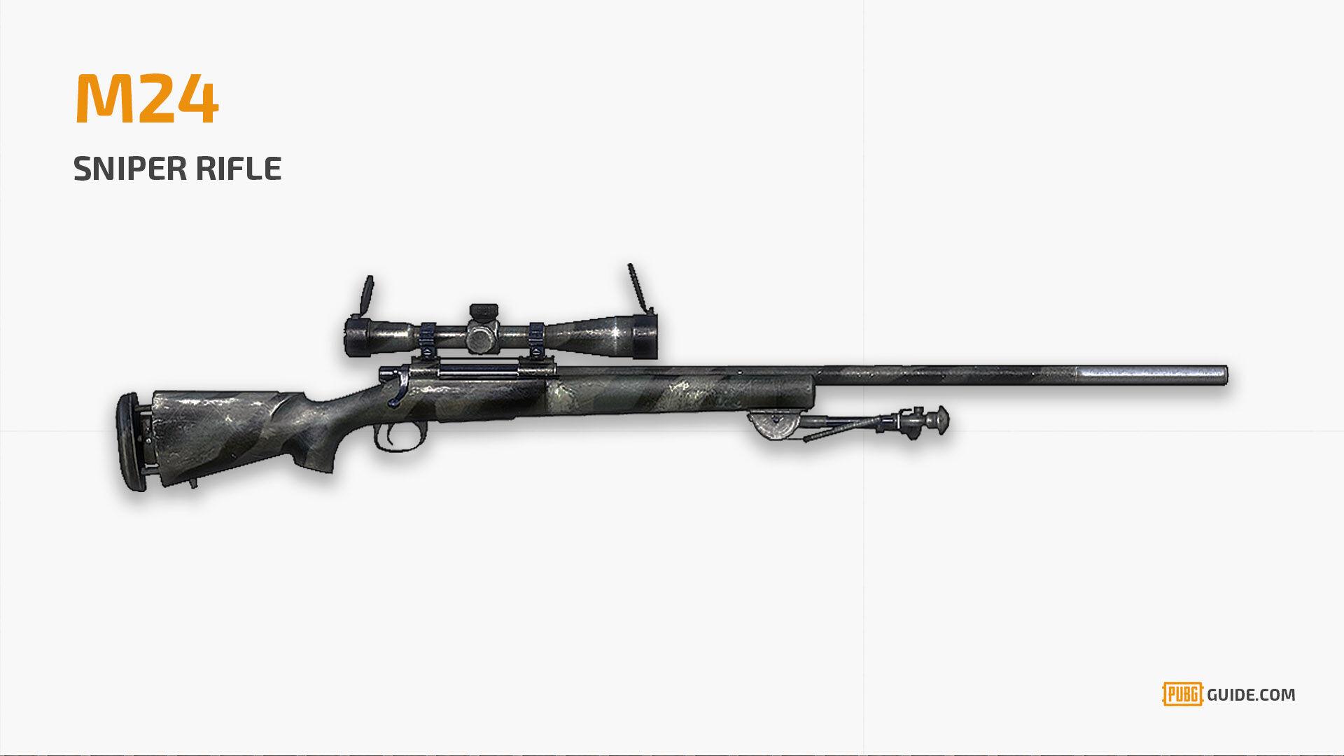 Pubg Weapon M24 1 E4216
