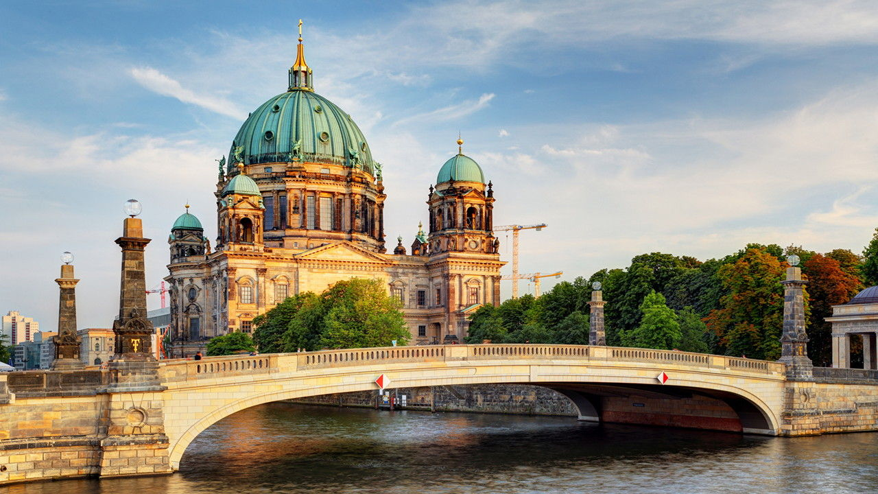 Berlin Temples Rivers Bridges Cathedral Germany 520212 1920x1080 Picsay 3f86a