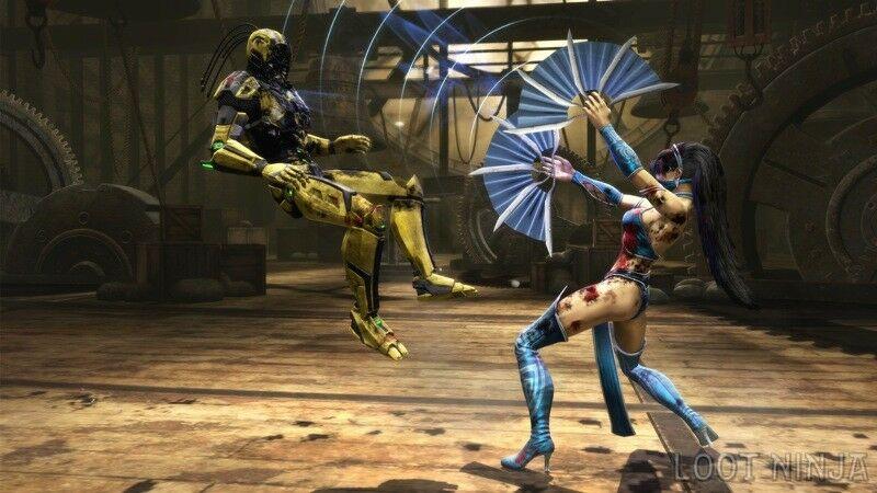 Mortal Kombat Kitana Cyrax Fa2d3