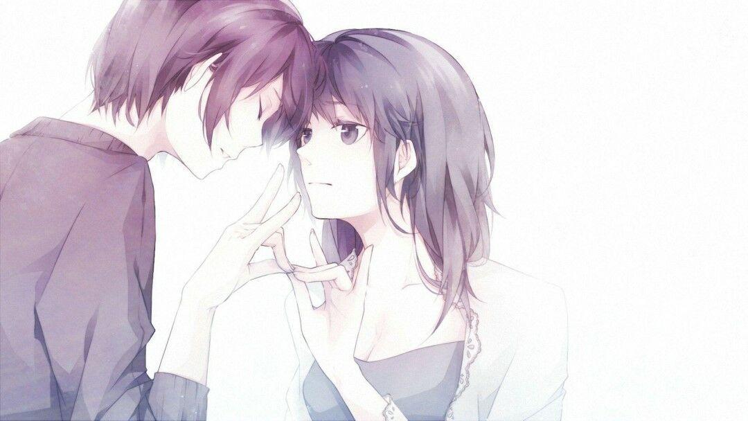 Gambar Anime Romantis Hitam Putih 2 B55b4