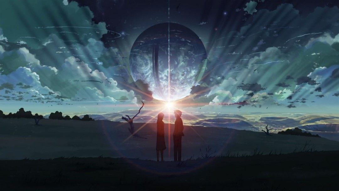 Gambar Anime Romantis Hitam Putih 5 553b2