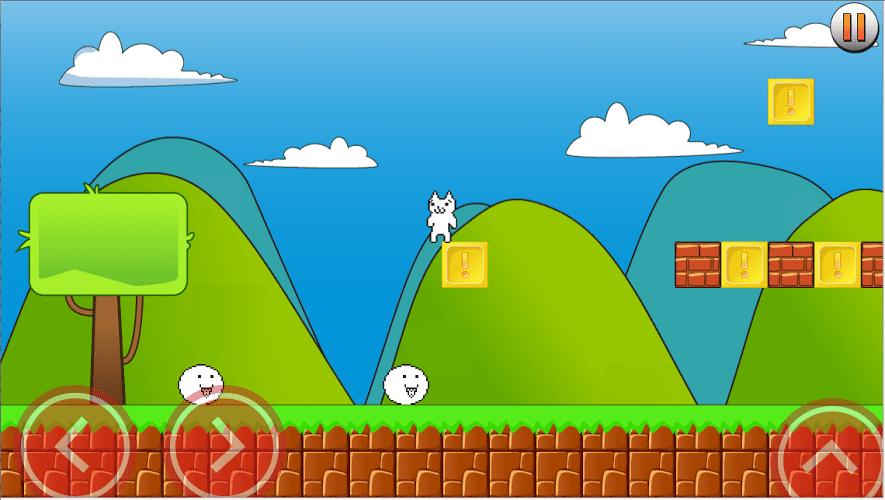 Super Cat World Cat Mario Android
