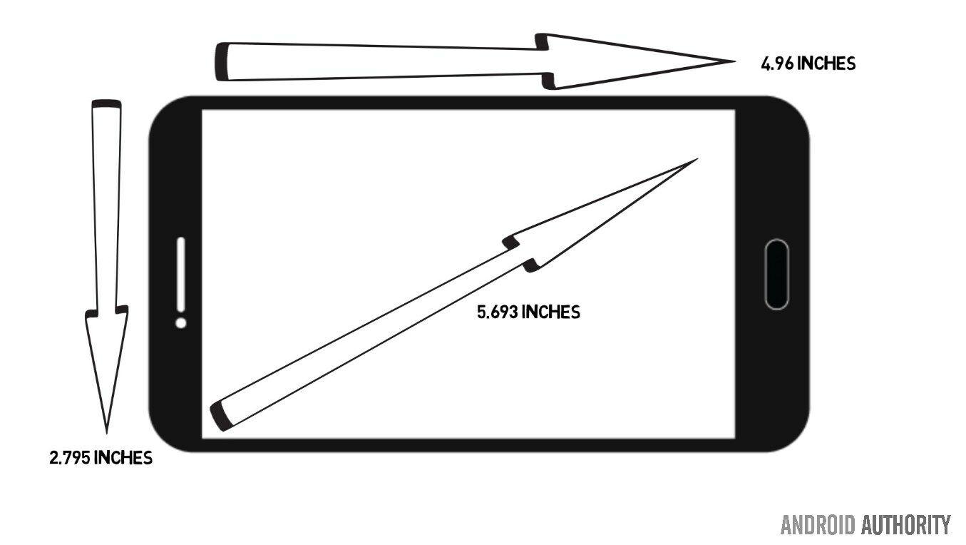 Lg G6 Note 5 Dimensi Layar