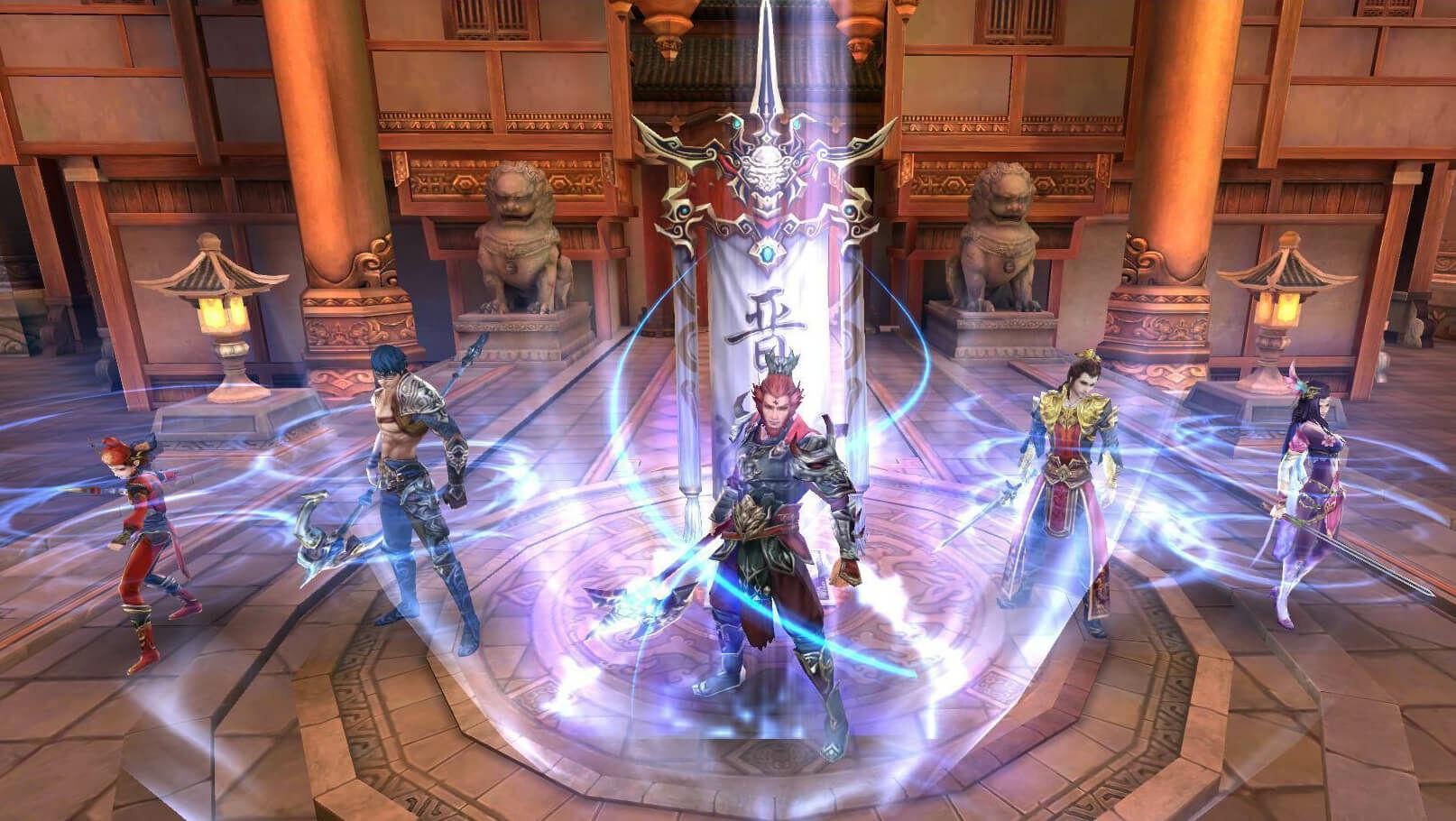Game Bu Liang Ren Pedang Naga 2