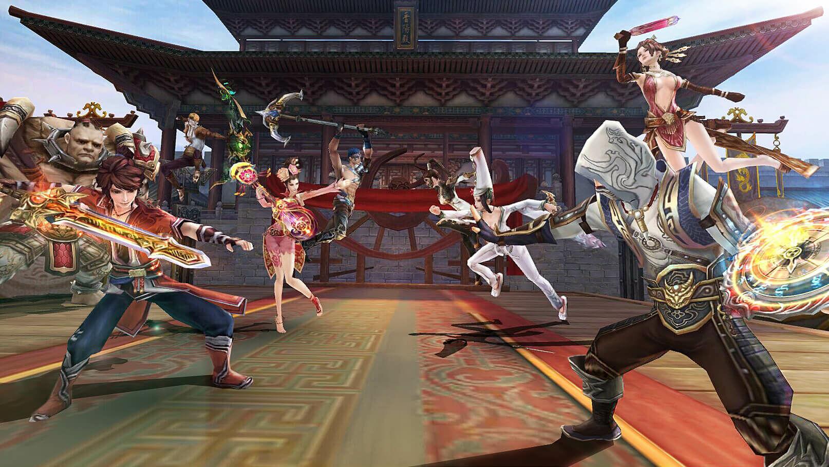 Game Bu Liang Ren Pedang Naga 3