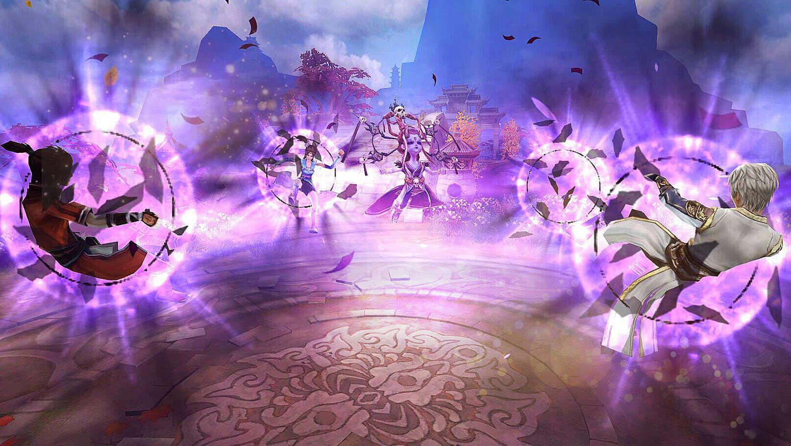 Game Bu Liang Ren Pedang Naga 4