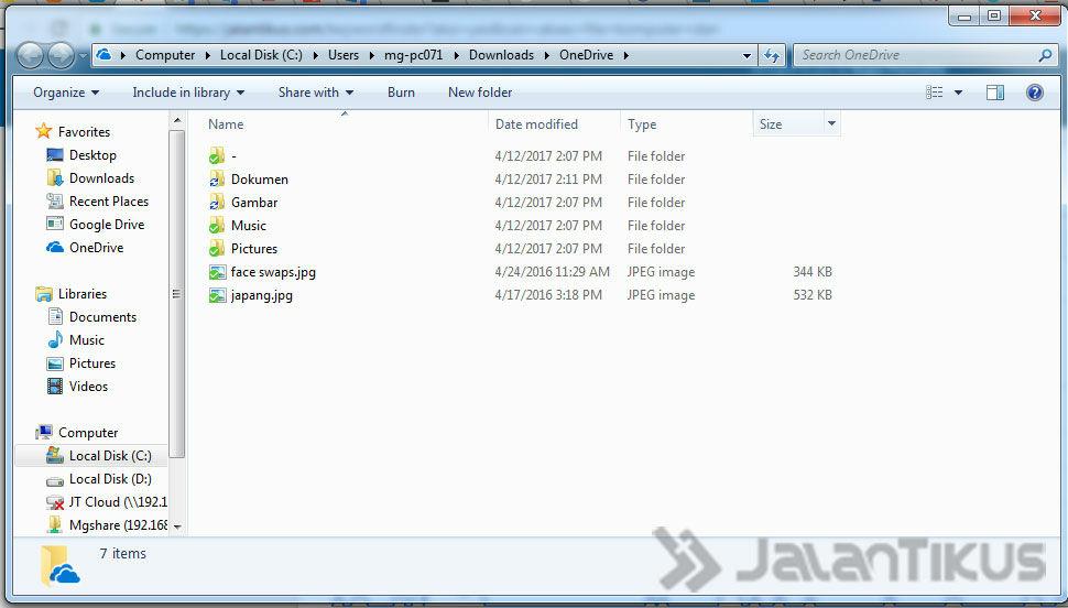 Cara Akses File Komputer Dari Android 4