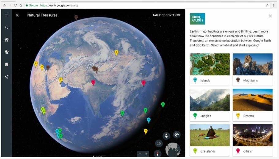Fitur Baru Google Earth 1