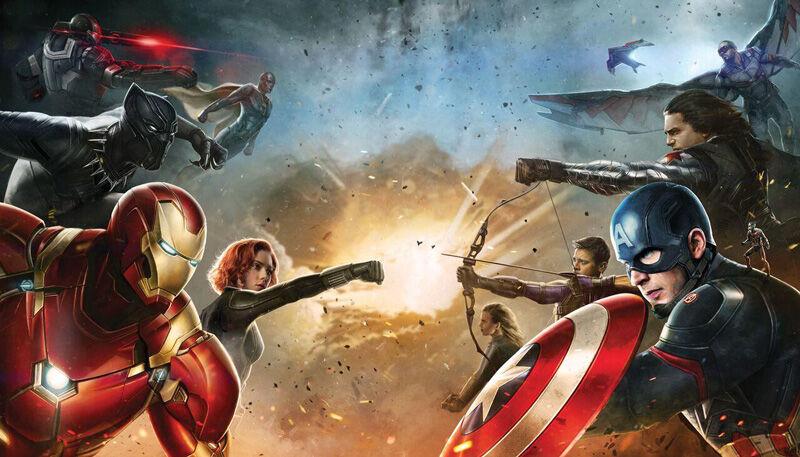 Iron Man Captain America Civil Wars 1