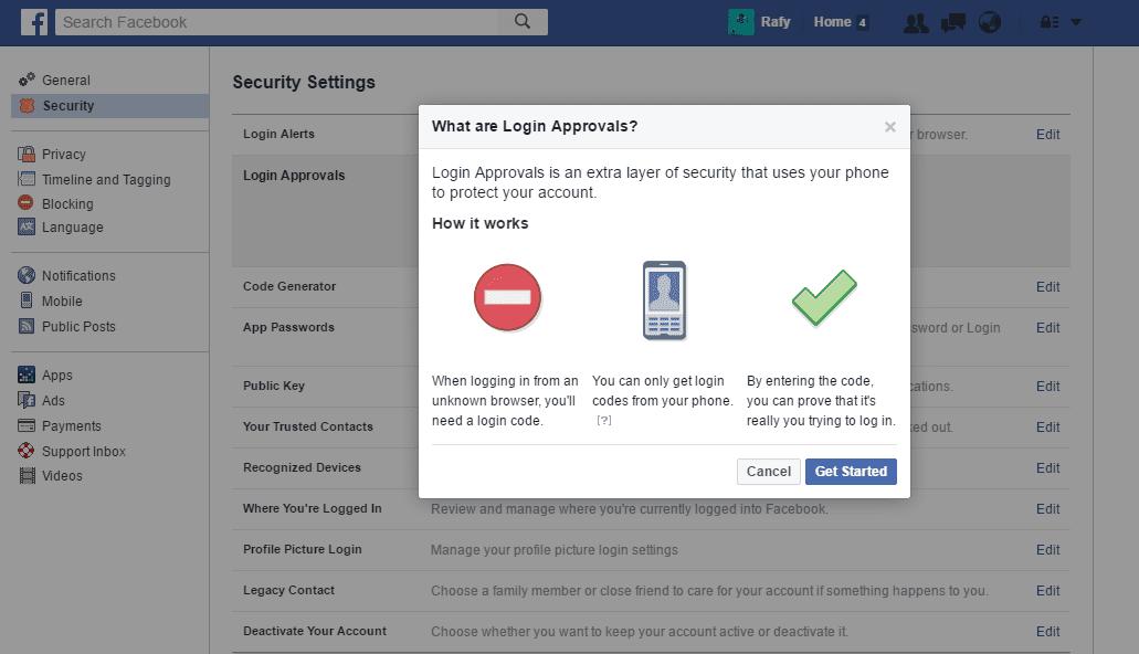 Tanda Akun Facebook Dihack Dan Cara Mengatasinya 1
