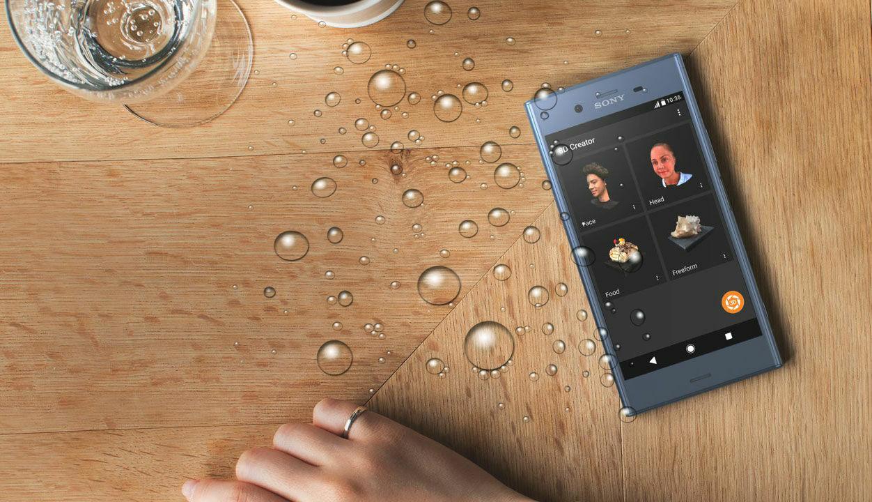 smartphone-android-tahan-air-terbaiksony-xperia-xz1