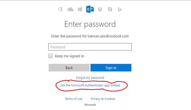 Cara Login Ke Akun Microsoft Tanpa Password 3