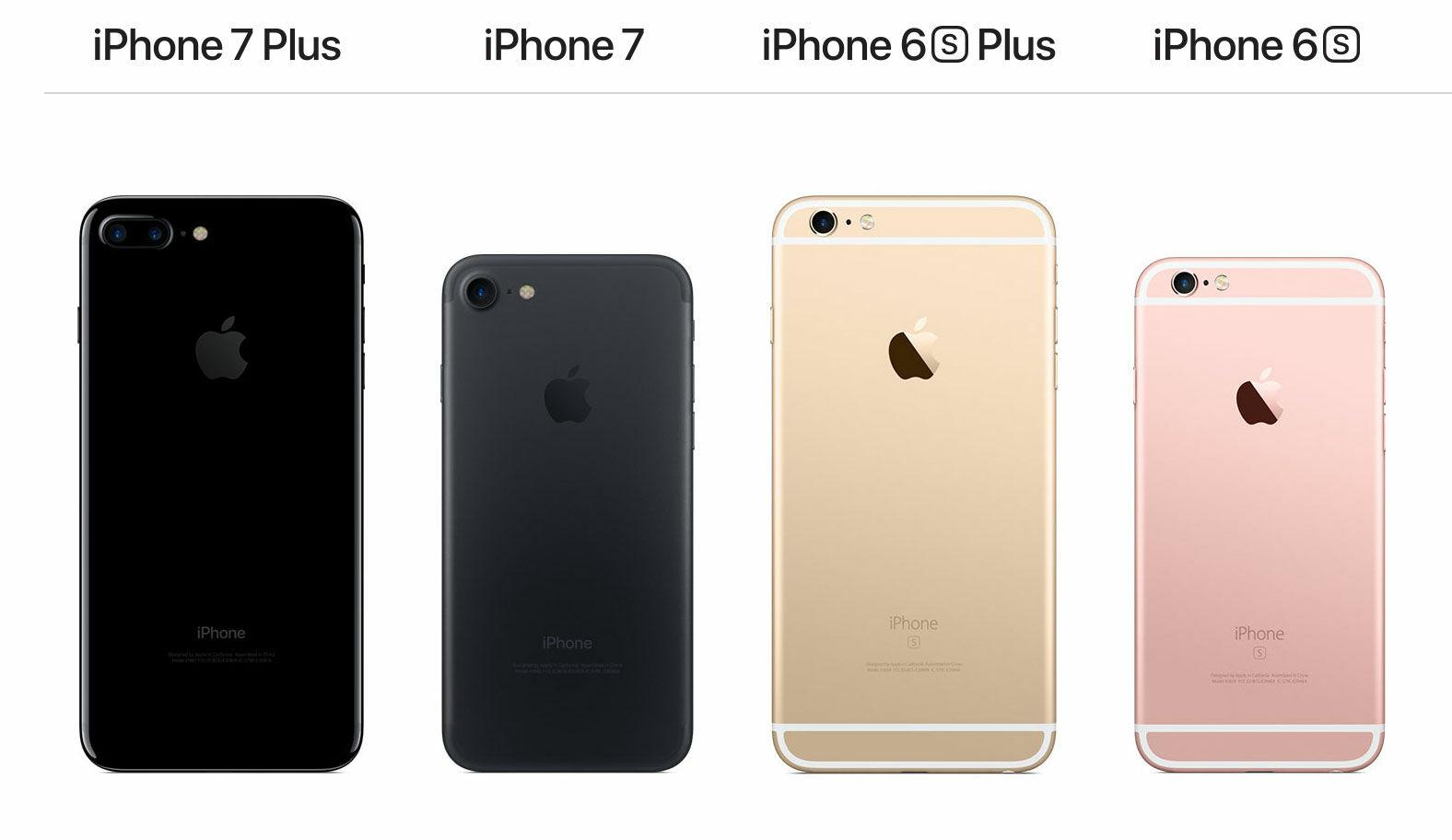 Perbedaan Fisik Iphone 6 6s 7 8 7