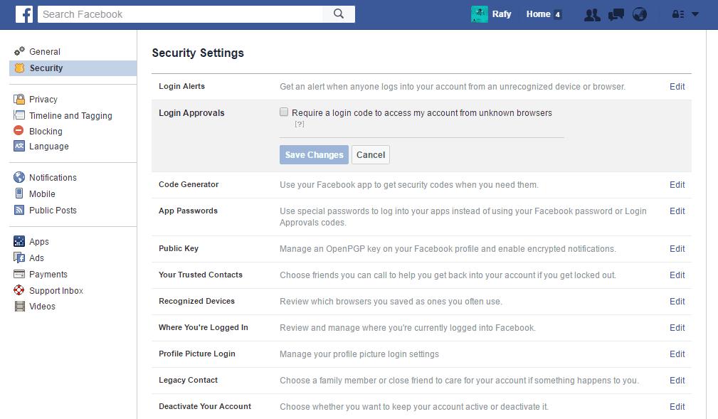 Tanda Akun Facebook Dihack Dan Cara Mengatasinya 7