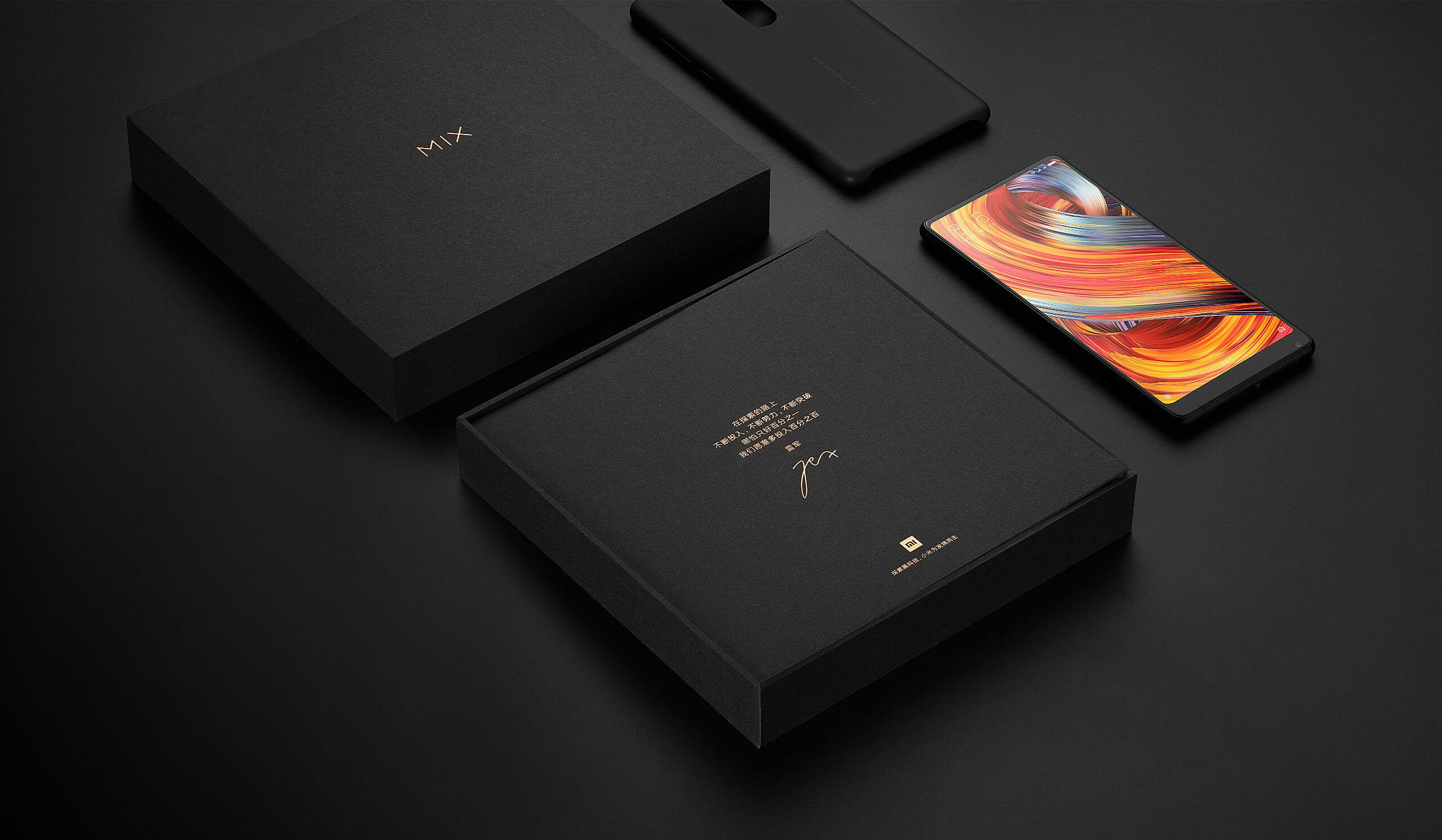 Smartphone Bezel Less 2017 Xiaomi Mi Mix 2