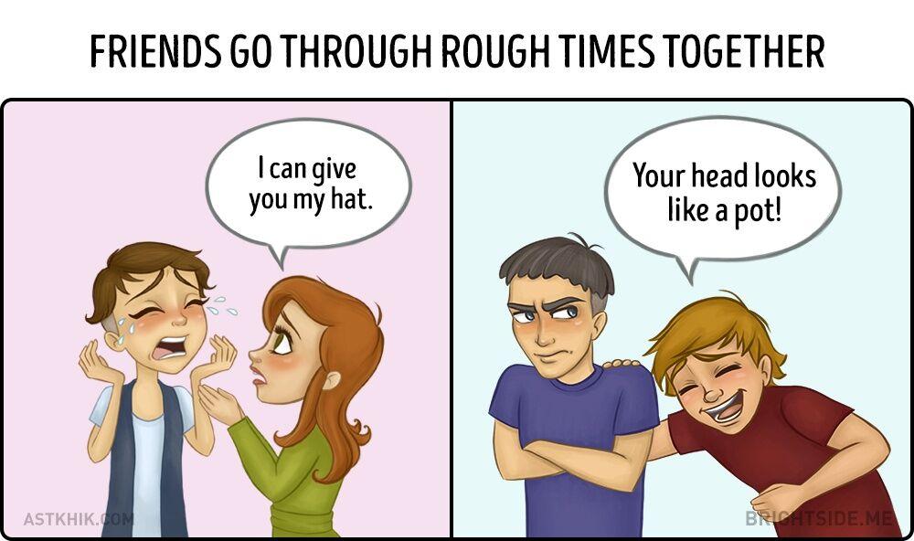 Perbedaan Persahabatan Cewek Dan Cowok 4