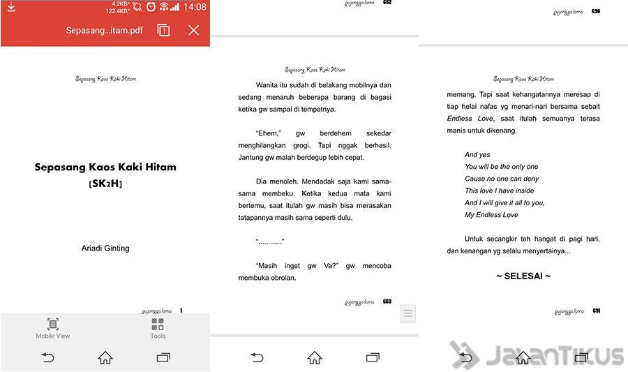 Membaca File Office Di Android 3