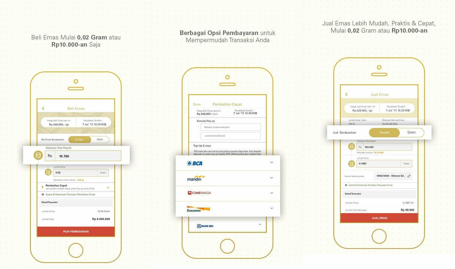 Aplikasi Android Terbaik Emas