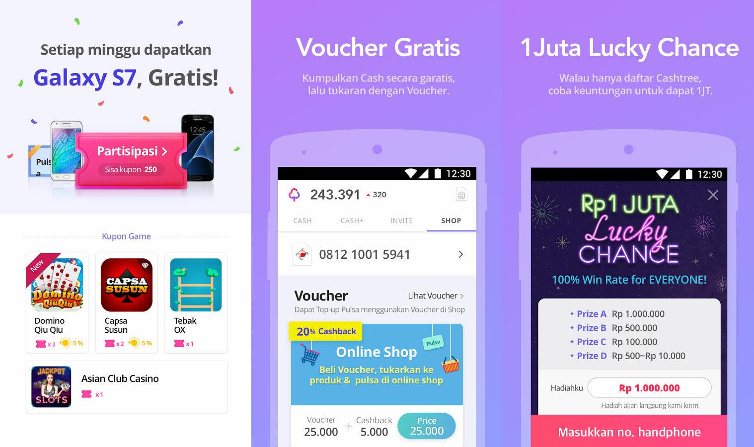 Aplikasi Android Paling Seru Cashtree