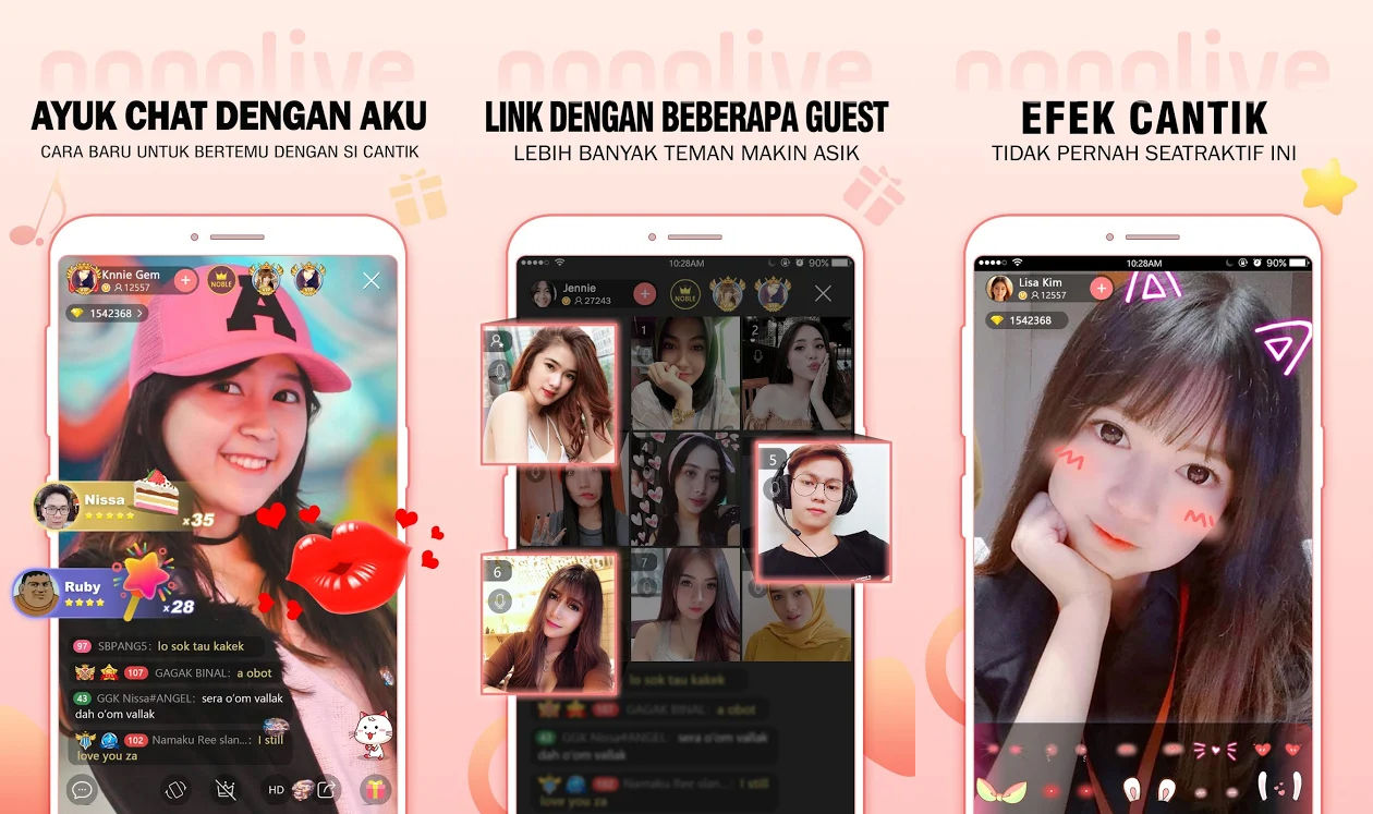 Aplikasi Live Streaming No Banned Nonolive Ffdb8