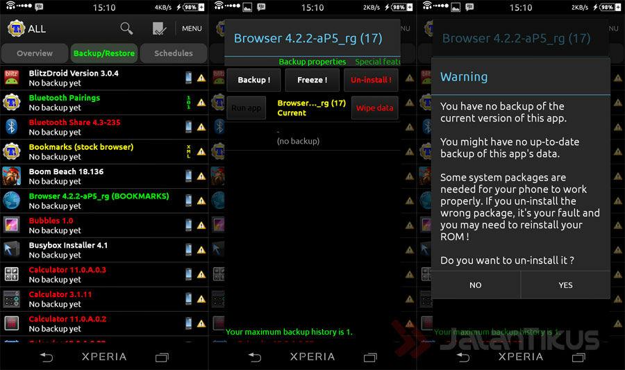 Cara Menghapus Aplikasi Bawaan Di Android 1