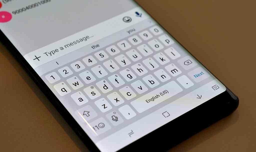 Note 8 Keyboard Fa6b3