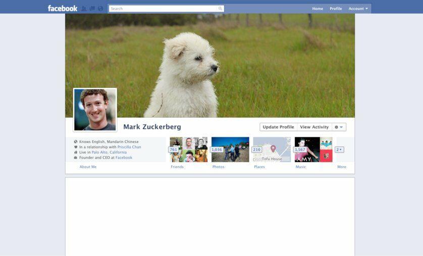 Sejarah Tampilan Facebook Tahun 2011