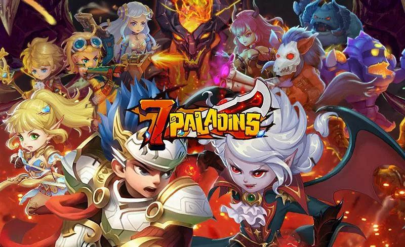 Seven Paladins Game 3d Rpg X Moba
