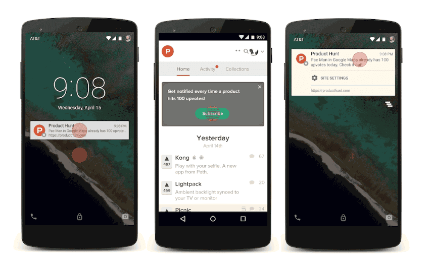 fitur push notification Android