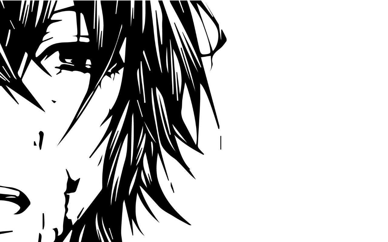 Gambar anime sedih pensil 1