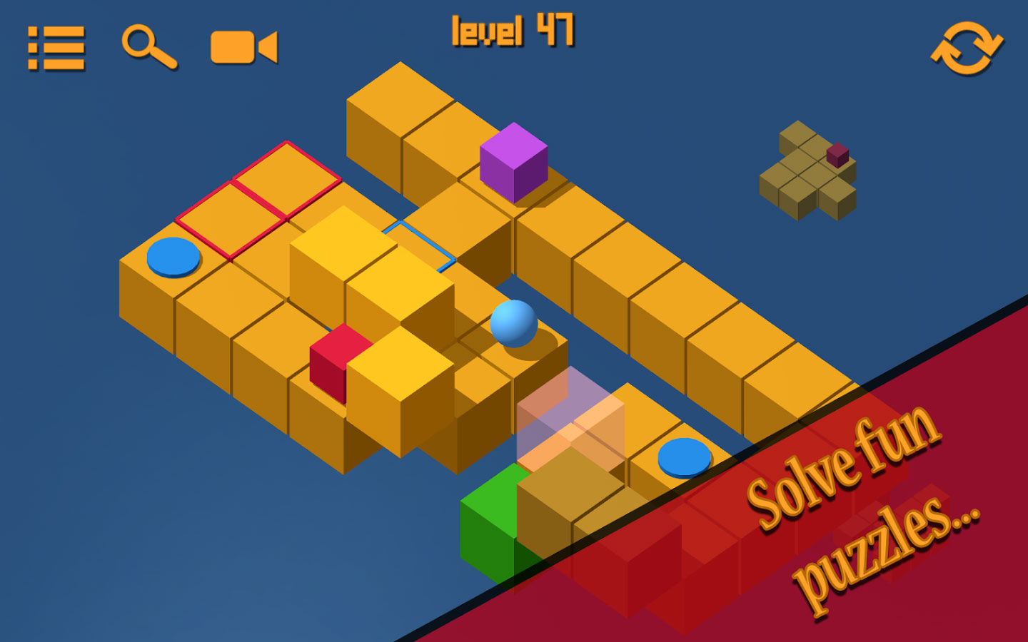 Cubiscape Game Android Paling Seru