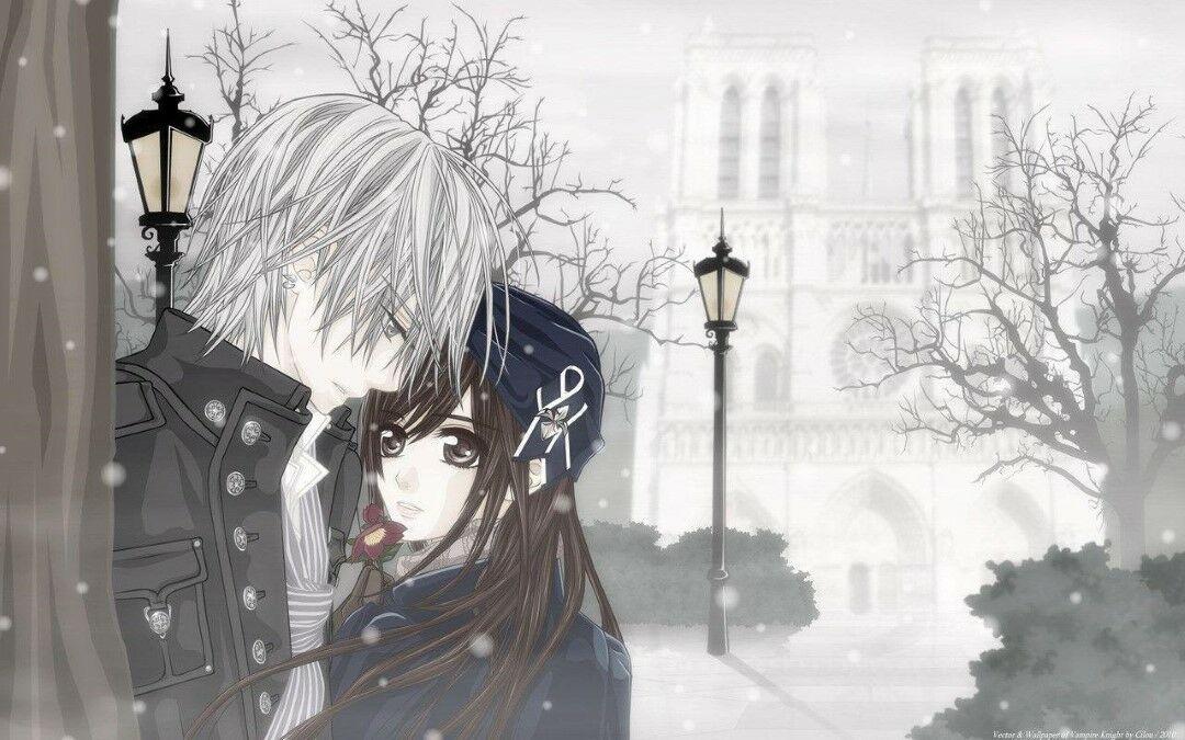 Gambar Anime Romantis Hitam Putih 4 02e65