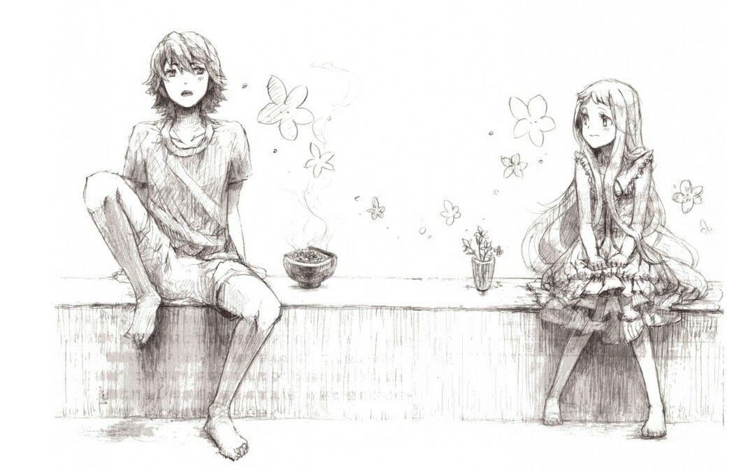 Gambar Anime Romantis Pensil 1 9622b