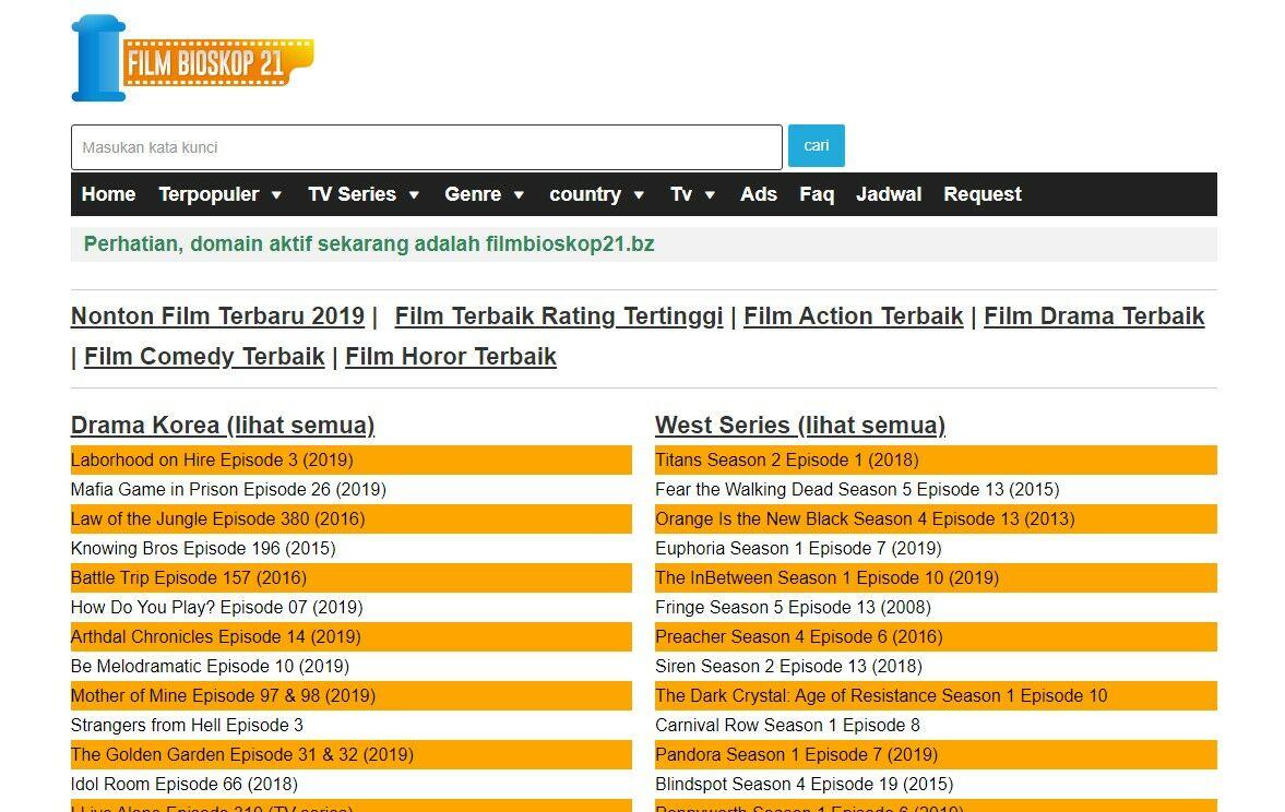 Web Nonton Film Bioskop 21 89421