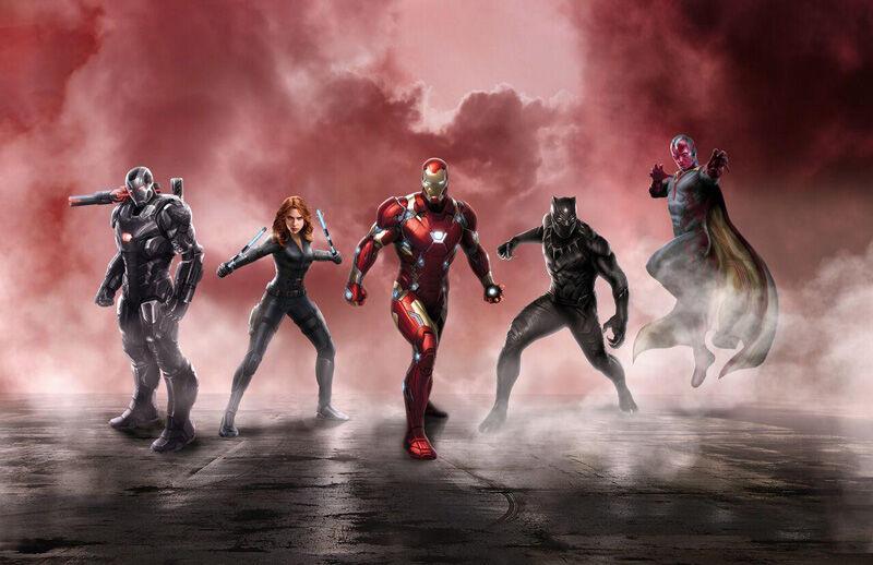 Iron Man Captain America Civil Wars 3