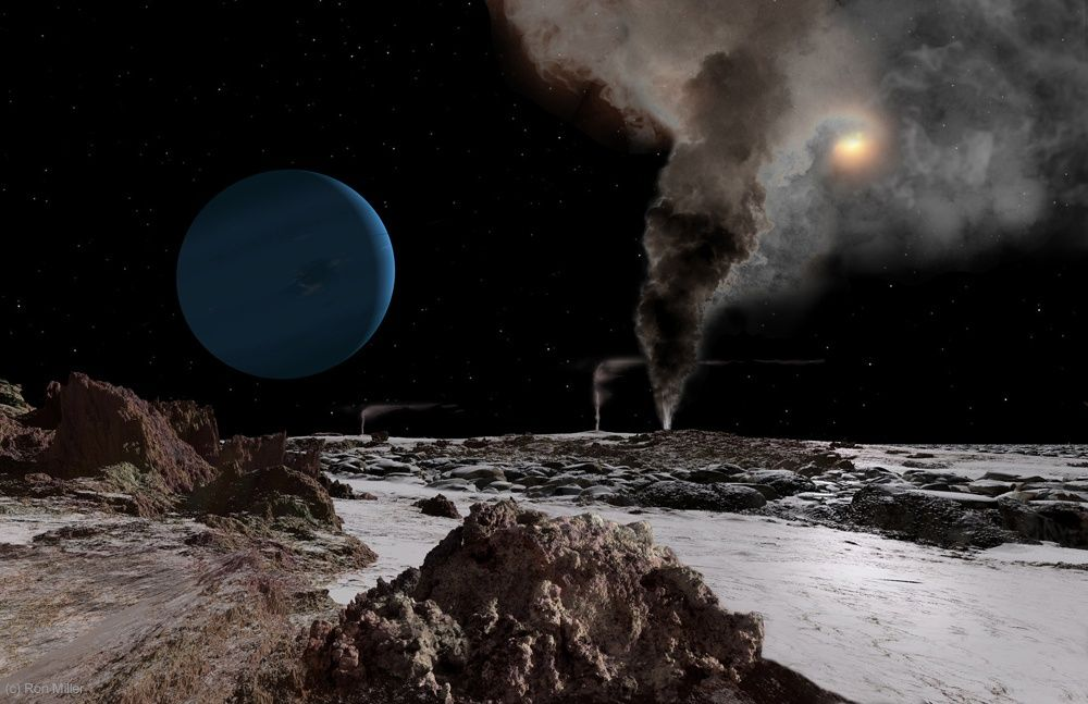 Pemandangan Matahari Terbit Dari Berbagai Planet 7