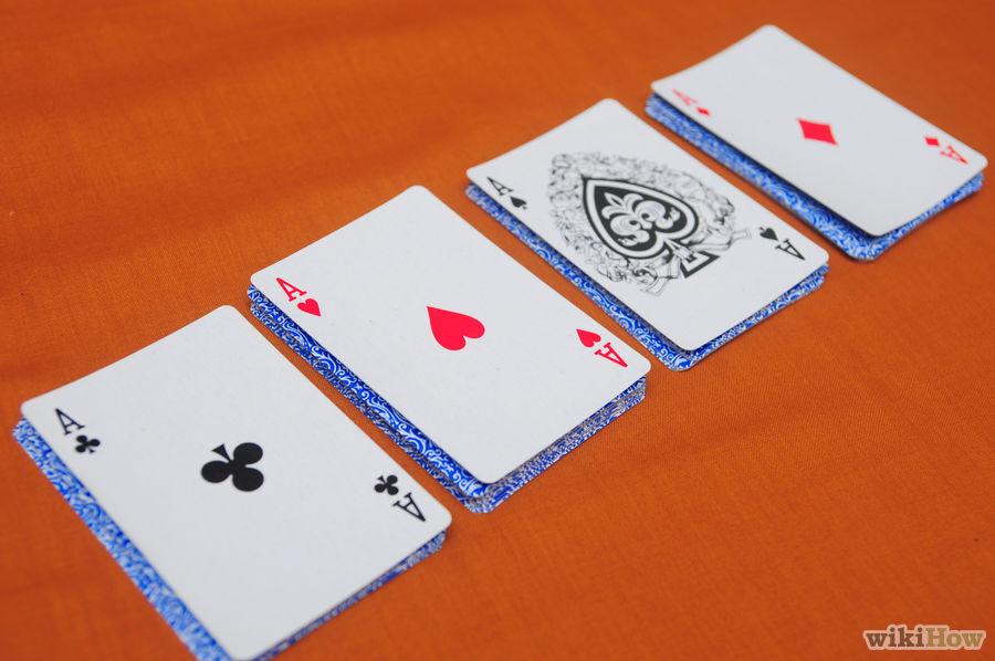 Memunculkan Empat Kartu As 6