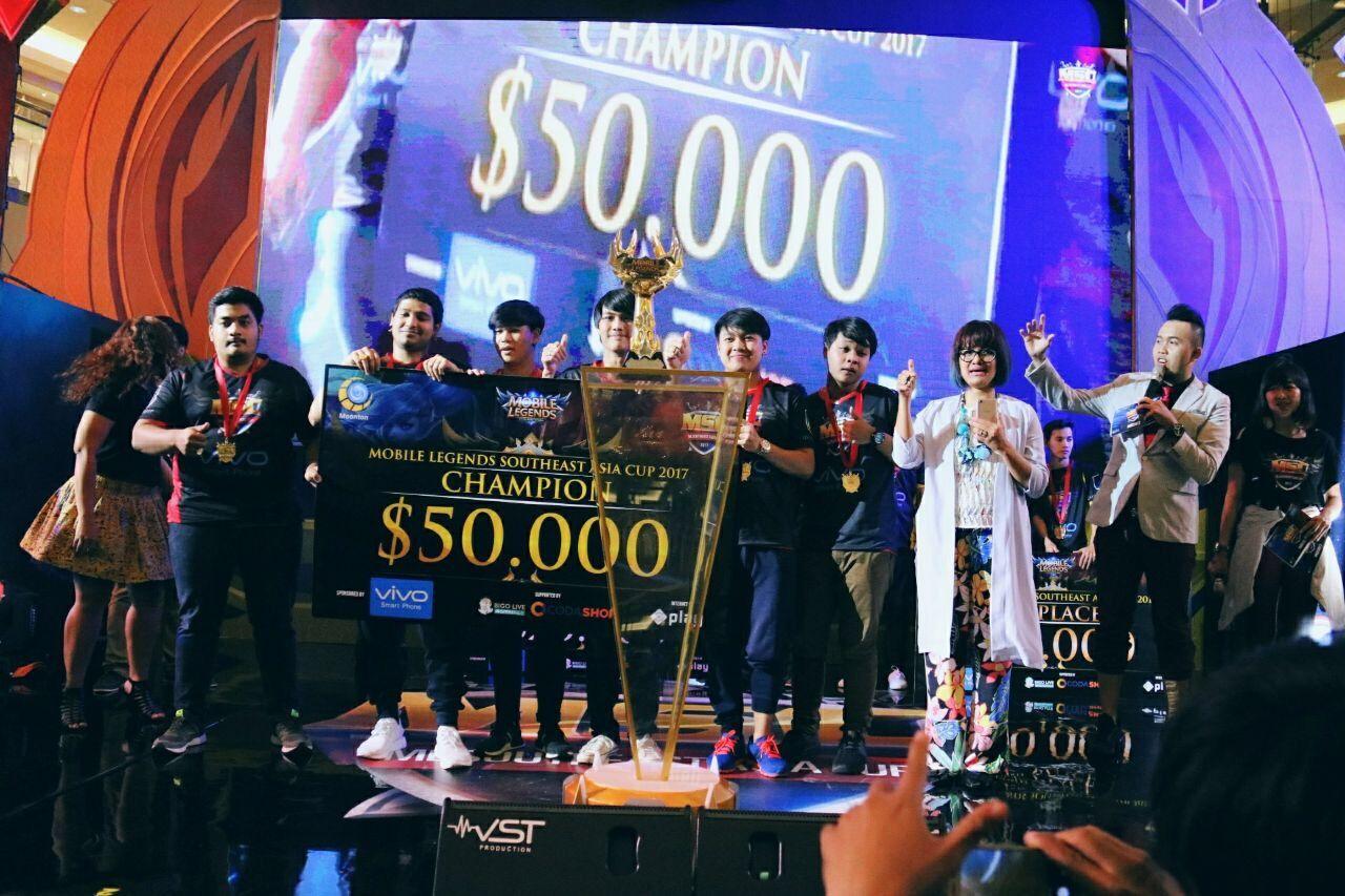 Juara Umum Turnamen Msc 2017