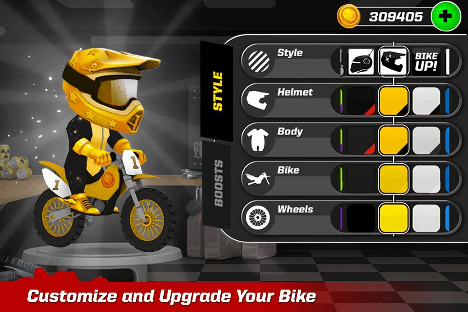 Bike Up Costumize