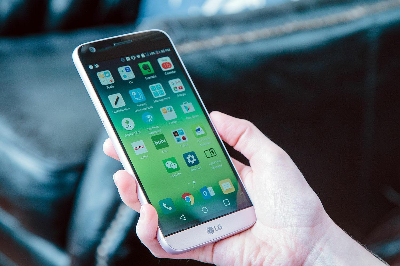 Lg G5 Android Nougat